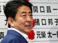 Thủ tướng Abe thắng lớn trong bầu cử Thượng viện Nhật