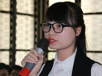 Nữ sinh đòi lương 2.000 USD: 'Tôi không ảo tưởng sức mạnh'
