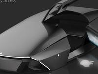 Ngắm ý tưởng Apple Car đẹp đến nỗi Ferrari hay Lamborghini cũng chỉ là đồ bỏ