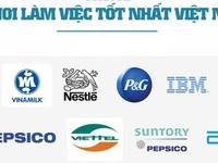 [Infographic] Công ty Việt trong 10 nơi làm việc tốt nhất Việt Nam