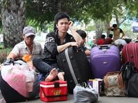 Ga Sài Gòn đón hơn 26.000 lượt khách về quê