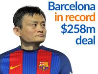 Alibaba sắp xuất hiện trên áo đấu của Barcelona