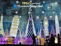 Thiên đường ánh sáng đẹp như trong cổ tích đêm Sài Gòn trước Giáng sinh