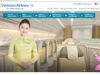 Vietnam Airlines vừa thay giao diện mới, thân thiện hơn hẳn