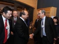 Những ngày bận rộn của Thủ tướng tại Davos