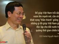 """CEO Viettel: """"Để Việt Nam trỗi dậy lần thứ 2 sau đổi mới, cần những khát vọng thần thánh"""""""