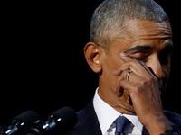 Đến phút cuối, Tổng thống Obama vẫn là 'soái ca' đích thực sự khi nói về sự hi sinh của vợ