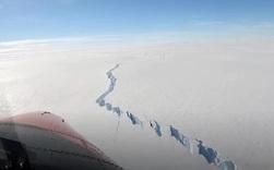 Vết nứt khổng lồ ở Nam Cực giải phóng tảng băng trôi rộng 1270 km2