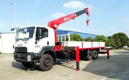 Xe tải gắn cẩu Isuzu FVM34T 13 tấn - mạnh mẽ trong phân khúc xe gắn cẩu
