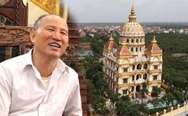 Cận cảnh tòa lâu đài 10 tỷ đồng của ông chủ lò gạch ở Hưng Yên: Tự tay thiết kế, ăn dè hà tiện mới có