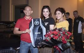 """Magic Skin và Đào Minh Châu tri ân thầy giáo Phạm Thành Long bằng """"xế sang"""" BMW 530i"""