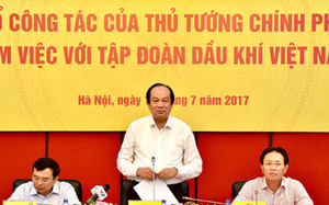 """Thủ tướng: """"Petro Vietnam đang lúc khó khăn nhất"""""""