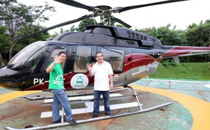 """Giới siêu giàu Đông Nam Á """"đau đầu"""" vì vấn nạn kẹt xe, Grab dự tính sẽ thử nghiệm dịch vụ gọi trực thăng"""