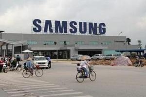 """Samsung mặc cả 12 """"yêu sách"""" đối với dự án 300 triệu USD tại Hà Nội"""