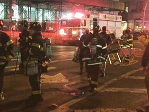Bom trong thùng rác nổ, Manhattan náo loạn vì thương vong