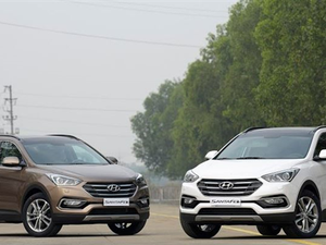Xe 7 chỗ, nên chọn Toyota Fortuner hay Hyundai SantaFe?
