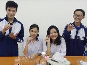 Vượt Nhật Bản, học sinh Việt Nam giành 2 giải Bạc trong cuộc thi khoa học quốc tế