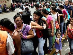 Người Venezuela sụt cân vì khủng hoảng kinh tế