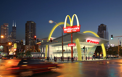 Nếu muốn may mắn hơn, hãy làm theo cách của ông chủ McDonald's