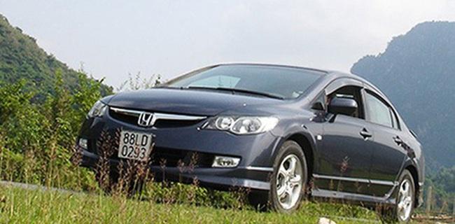 Triệu hồi 9.764 ôtô Honda tại Việt Nam vì lỗi túi khí