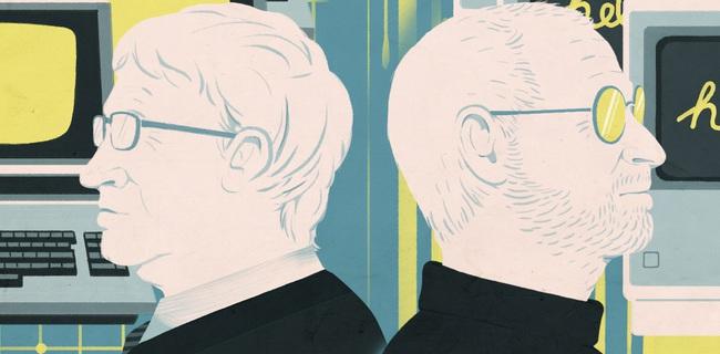 Hơn nửa đời tình bạn, tình thù của Bill Gates và Steve Jobs: những câu chuyện chưa bao giờ kể