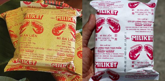 """Miliket - Từ giấy gói kiểu """"xi măng"""" tới bao bì nilon hiện đại: Nổi bật liệu có đẹp hơn?"""