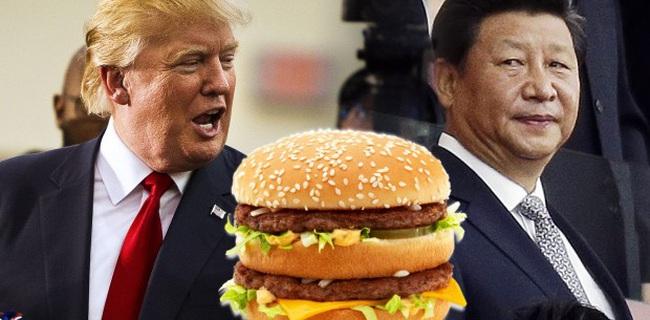 Học thuyết cho thấy chẳng cần quân đội hùng mạnh, chỉ cần có 100 cửa hàng McDonald's, sẽ không một quốc gia nào muốn gây chiến với bạn