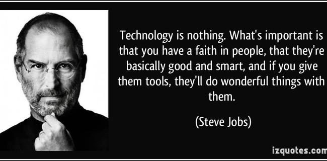 Bạn có tin: Sáng tạo đôi khi bắt nguồn từ bắt chước và thiên tài như Steve Jobs cũng làm điều đó?
