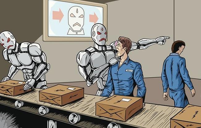 Robot thay thế con người đã đến Việt Nam