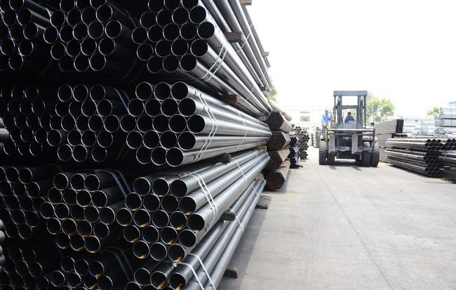 Nhà máy VinFast dùng ống thép đen hàn cỡ lớn của Hòa Phát