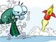 Hí họa: Cú sẩy chân bất ngờ của ông chủ trà xanh C2, Rồng đỏ