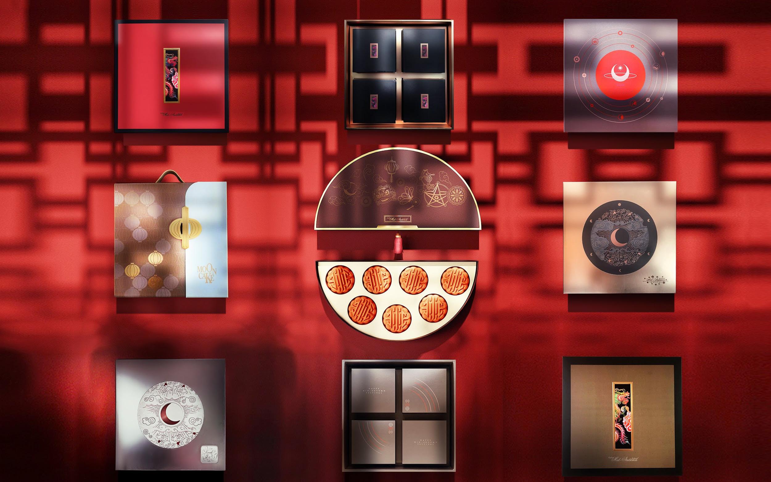 """Cảm hứng phương Đông trong thiết kế hộp bánh Trung Thu 2020: """"Fusion"""" truyền thống, hiện đại"""