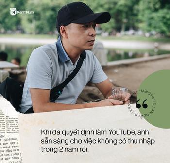 Gặp gỡ YouTuber tạo nên cơn sốt cá kho phố cổ Hà Nội, gần 40 tuổi vẫn quyết khởi nghiệp làm food blogger - Ảnh 1.