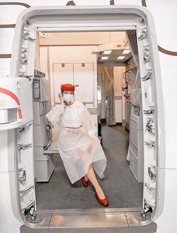 Gái đẹp Việt làm tiếp viên tại hãng hàng không đắt giá nhất hành tinh: Lương gần 1 tỷ/năm, từng đặt chân đến 76 quốc gia - Ảnh 2.