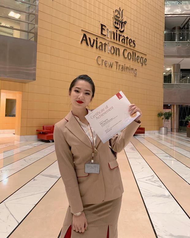 Gái đẹp Việt làm tiếp viên tại hãng hàng không đắt giá nhất hành tinh: Lương gần 1 tỷ/năm, từng đặt chân đến 76 quốc gia - Ảnh 3.