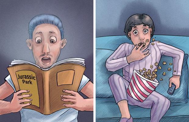 Loạt ảnh diễn tả 2 kiểu người thường gặp trong cuộc sống, xem xem biết đâu bạn cũng tìm thấy chính mình trong đó - Ảnh 5.