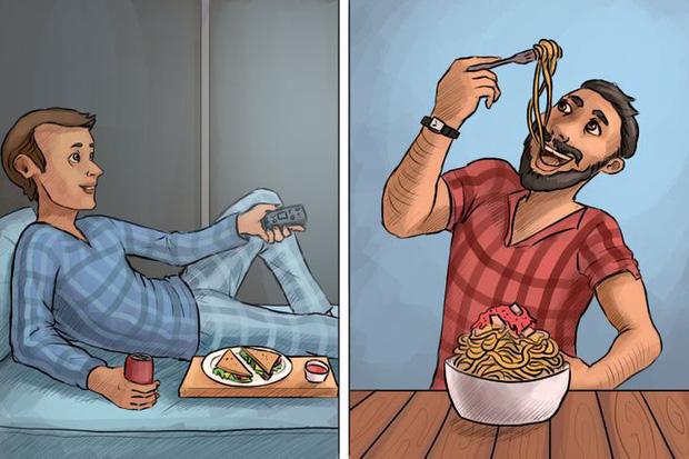 Loạt ảnh diễn tả 2 kiểu người thường gặp trong cuộc sống, xem xem biết đâu bạn cũng tìm thấy chính mình trong đó - Ảnh 6.