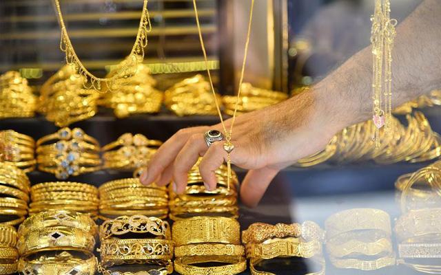 """Giá vàng """"nhùng nhằng"""" quanh ngưỡng 56 triệu đồng/lượng - Ảnh 1."""