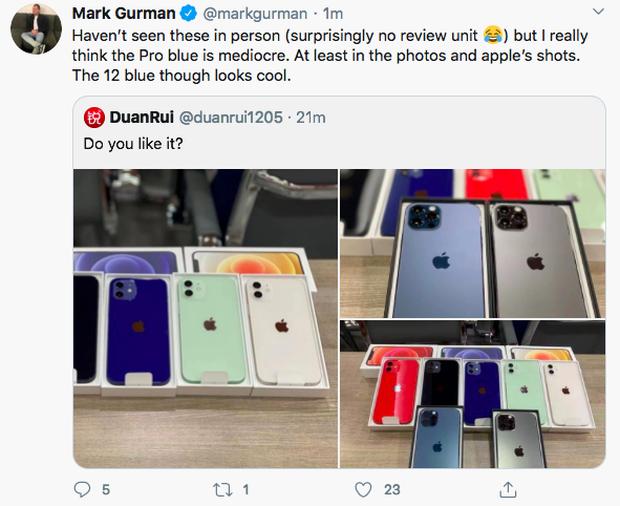 Lộ diện full màu các mẫu iPhone 12, phiên bản màu xanh blue bị chê tới tấp - Ảnh 1.