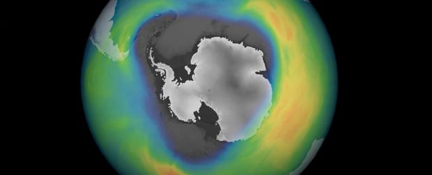 Chỉ sau 1 năm lỗ thủng tầng ozone tại Nam Cực đã to đến mức sắp chạm kỷ lục, gần phủ kín cả châu lục rồi - Ảnh 1.