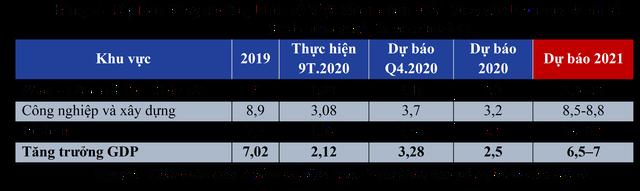 Dự báo tăng trưởng kinh tế Việt Nam quý 4/2020 và năm 2021: Sẽ phục hồi theo chữ V, năm 2021 tăng khoảng 6,5 - 7%  - Ảnh 3.