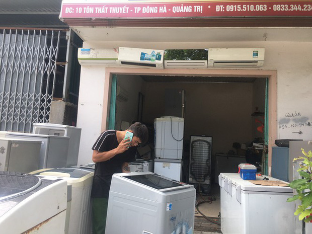 Máy giặt, tủ lạnh bị lũ ngâm, bà con để tui sấy sửa miễn phí cho - Ảnh 7.