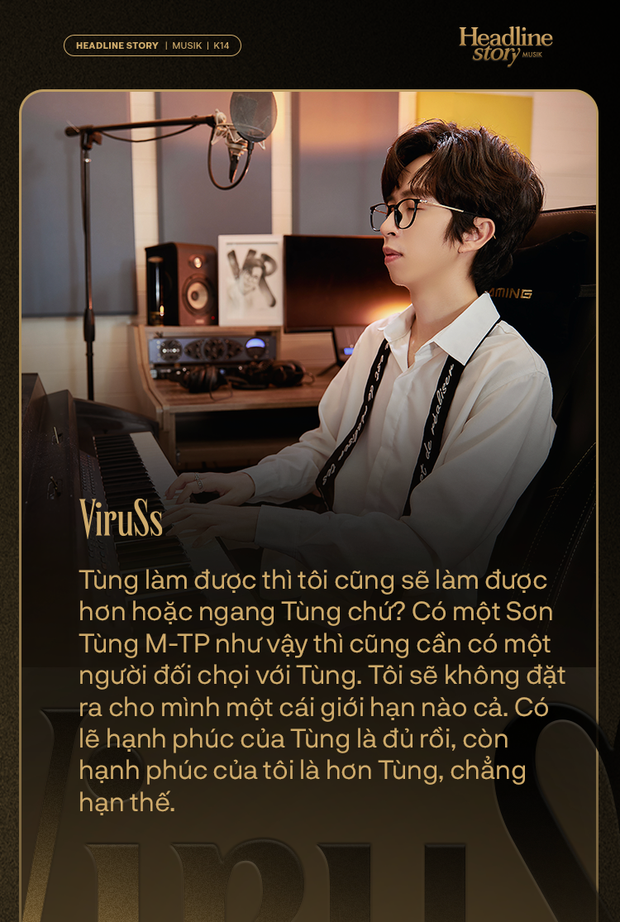 ViruSs: Có lẽ hạnh phúc của Sơn Tùng là đủ còn hạnh phúc của tôi là hơn Sơn Tùng - Ảnh 15.