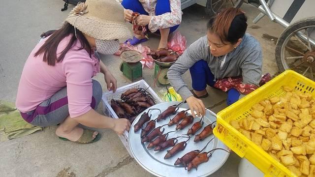 Chuột đồng vào mùa, người buôn thịt chuột ở làng ven đô Hà Nội hốt bạc từng ngày - Ảnh 2.