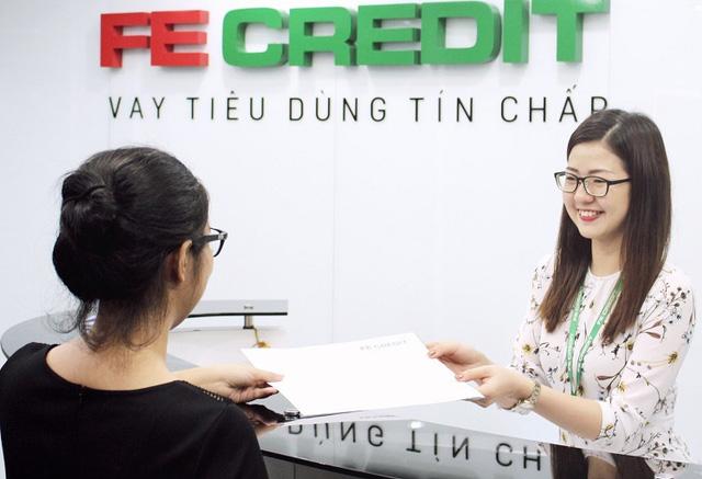 Nhóm thẻ tín dụng tăng, FE Credit hỗ trợ tích cực nhu cầu mua sắm của khách hàng - Ảnh 1.