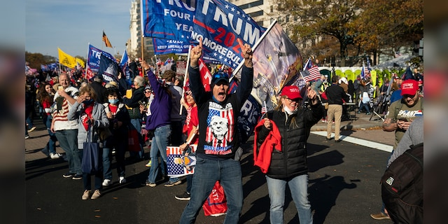 Hàng chục nghìn người biểu tình đổ về Washington, D.C., hô hào thêm 4 năm cho Tổng thống Trump - Ảnh 4.