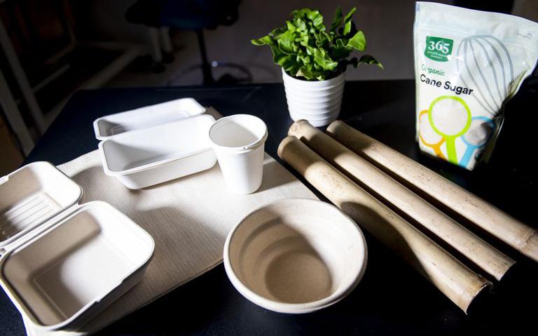 Cửa sáng cho việc bảo vệ môi trường: Hộp đựng thực phẩm làm từ tre và bã mía sẽ phân hủy sinh học trong 60 ngày