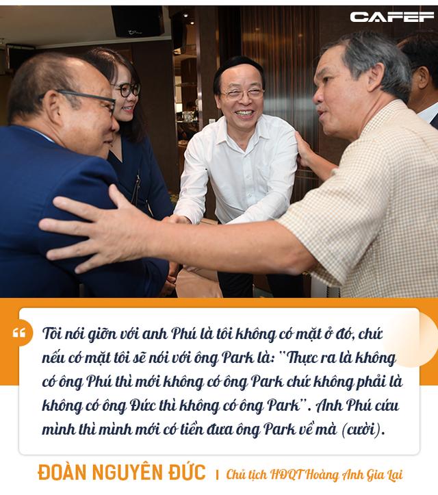"""Những """"món nợ"""" chưa bao giờ kể giữa bầu Đức, HLV Park Hang-seo, và Chủ tịch TPBank Đỗ Minh Phú - Ảnh 4."""