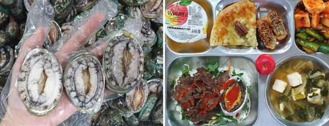 Một trường cấp 3 gây sốc vì thực đơn ăn trưa của học sinh: Có cả bào ngư và cua, sang chảnh không thua gì khách sạn 5 sao  - Ảnh 1.