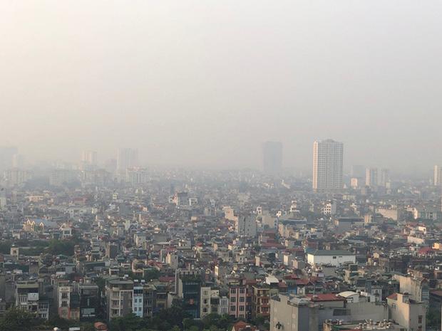 Hà Nội và TP.HCM gia tăng ô nhiễm không khí - Ảnh 1.